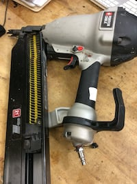 Porter cable nail gun model number FR35OB . Pre owned .  Baltimore, 21205