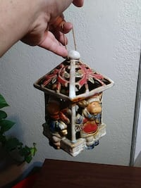 Christmas candle holder $15 Pueblo, 81001