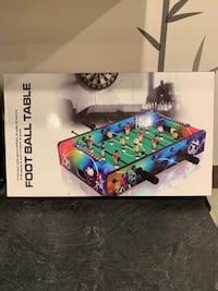 Mini Football table, brand new in box Vaughan, L4H 0C5