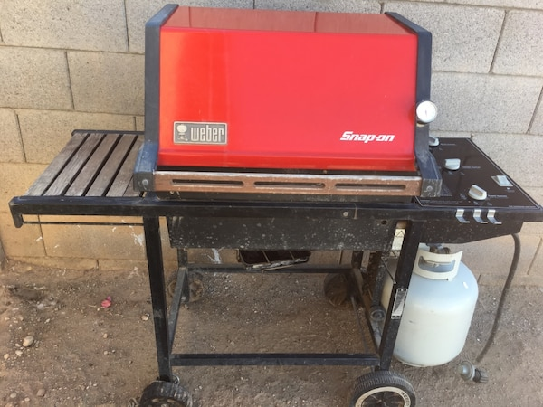 Weber gas grill snap on tools edition