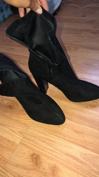 Suede ankle boots Bellevue, 68005