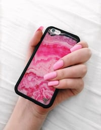 Pink Marble Wildflower Case Mahtomedi, 55115