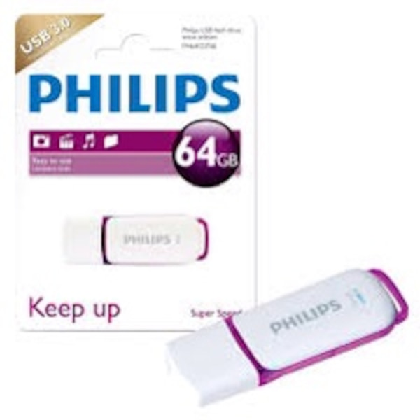 Free shipping Philips USB 64gb super speed