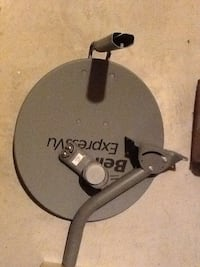 Bell Expressvu satellite disc (never been used)