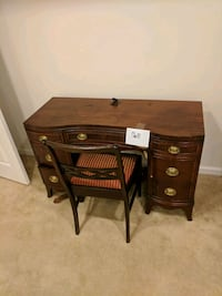 Dresser and chair