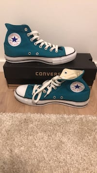 par blå Converse All Star high-top sneakers Stavanger, 4032