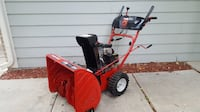 LIKE NEW Troy Bilt 195cc HEAVY DUTY 2 stage Snow Blower Electric Start Fort Collins