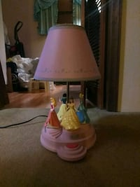 pink and white table lamp Woodbridge Township, 08830