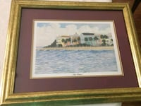 Set of 2 Matted and Framed pictures  Wilmington, 28409