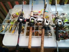 Or fishing reels and more tackle than you could ever use