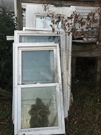 white wooden framed glass window Hampton, 23669