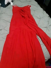 Red prom or graduation dress Edmonton, T5B 3M2