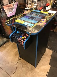 "Custom Arcade Machine Bar Height 42"" Stand and Play 60 Game"