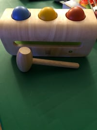 Wooden ball toy