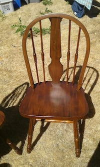 brown wooden windsor chair Vancouver, V6N 2X8