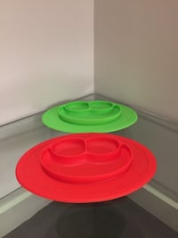 Two silicone plates