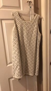 women's white and gray sleeveless dress Louisville, 40220
