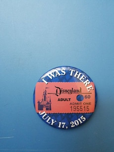 blue I Was There badge