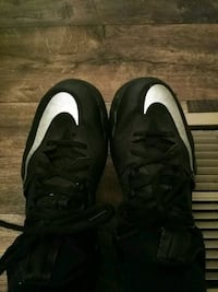 pair of black-and-white Nike basketball shoes Evansville, 47714