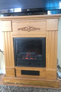 Electric Fireplace with heating and lighting Brampton, L6R 1K6