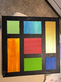 Abstract painting Charlotte, 28214
