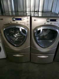 NewerGold GE  FRONT-LOAD Washer Set- FREE DELIVERY 314 mi