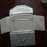 Kay jewelers silver necklace  Omaha, 68127