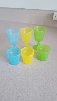 Set of shot glasses Montreal, H2W 2A1