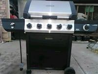 stainless steel and black gas grill Phoenix, 85037