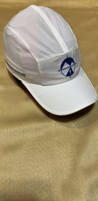 Brooks All  White Lightweight Running Hat, NEW no tags Roanoke, 24018