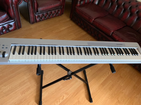 M-Audio 88 Key Midi Controller with stand