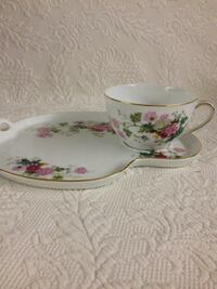 Teacup / coffee cup and luncheon saucer Phillipsburg, 08865