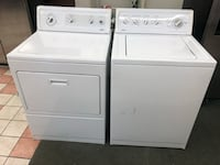Kill more heavy duty super capacity plus washer and electric dryer set 100 days warranty Baltimore, 21222