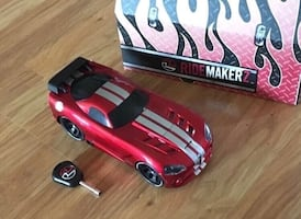 Custom Designed Toy Car with Key and Case