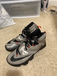 Nike Lebron James XIII Sneakers. Size 10