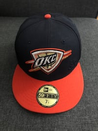 OKC Thunder Fitted hat size 7 1/4 Toronto, M9C 1A4