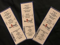 3 Six Flags Great Adventure tickets Baltimore, 21209