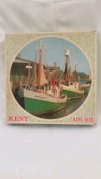 Vintage 52yr old MB kent round jigsaw puzzle  Henderson, 89014