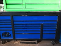 Blue and black tool cabinet Mississauga, L4W 4X8