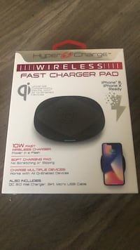 Wireless IPhone 8/IPhone X Charger Pad Lubbock, 79401