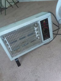 white and black space heater Phenix City, 36870