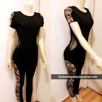 women's black sleeveless dress collage South Gate, 90280