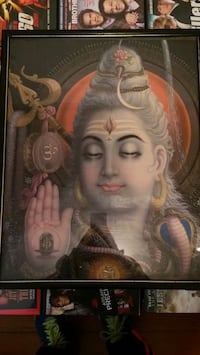 Framed picture of Lord Shiva Long Branch, 07740