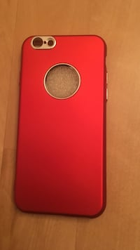 coque iPhone rouge Maurepas, 78310