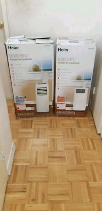 $285 Each-2 Haier Portable Ac-Like New  Toronto, M9B 1B9