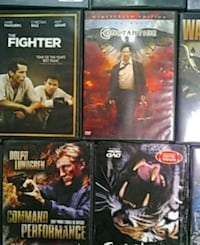 four assorted DVD movie cases Roswell, 88201