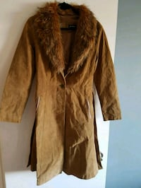 Suede trench  3164 km