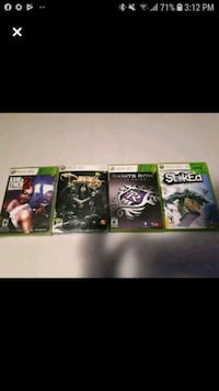 X box 360 Games In Great CONDITION FIRST $20 TAKES ALL 4!!