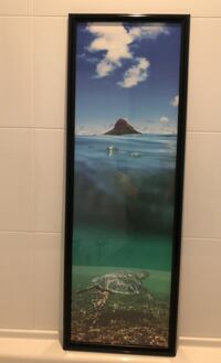 Picture of ocean and turtle in Hawaii  Richmond, V7C 0B5
