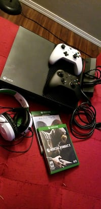 Xbox One console with controller and game case Ogden, 84404
